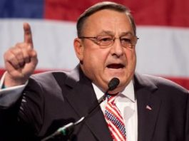 Maine's Governor Calls For Race War Against Black People