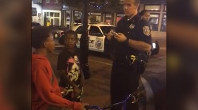 Thug Cops Chastised On Social Media For Harassing Black Kids Riding Their Bikes