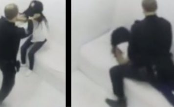 WATCH: Video Shows White Cop Raping Black Teen Inside Police Holding Cell