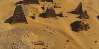 See Some Amazing Footage Of The Ancient Pyramids In Sudan