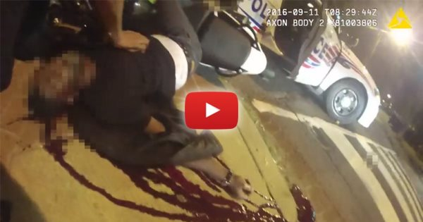 Graphic Footage Shows Cop Turning On Body Cam AFTER Shooting Terrence Sterling