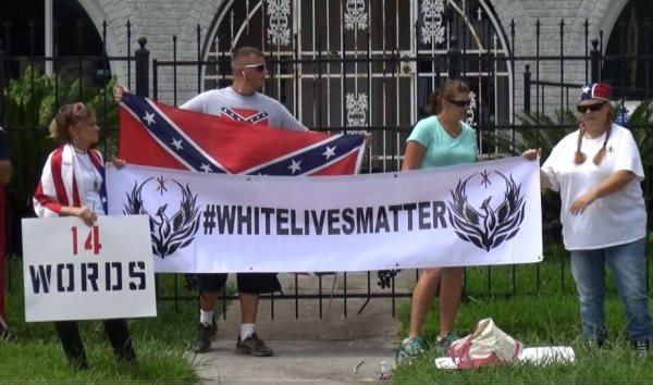 White Live Matter Is A Hate Group