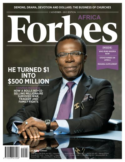 Turning A Dollar Into $500 Million: The Story Of Cosmas Maduka