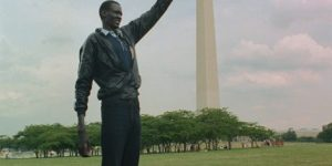 AFRICANGLOBE - The tallest player in NBA history is Sudanese-born Manute Bol who stood at 7ft 7in. He is a political activist, he is also the only player in NBA history to have killed a lion with a spear and to have paid 80 cows for his wife. He died June 19, 2010 (aged 47)