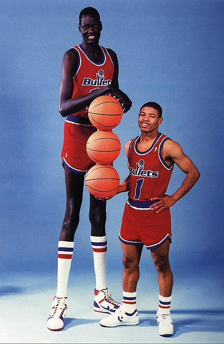 Meet Manute Bol, The Tallest Basketball Player In NBA History