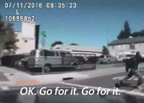 Video Shows Thug Cops Trying To Run Over Black Man Before Shooting Him 14 Times