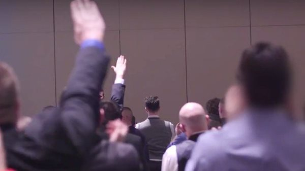 White Supremacists In Suits And Ties Gather In Washington DC
