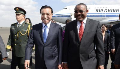 China And Ethiopia Agrees To Strengthen Military Ties