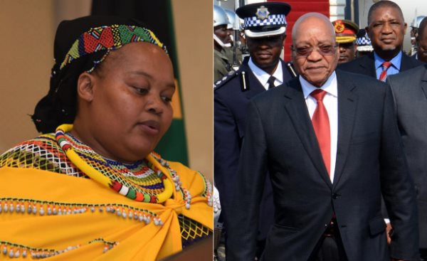 President Zuma's Wife Remains A Suspect In Poison Plot