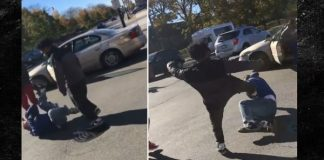 GRAPHIC VIDEO: Man Kicked In Head, Has Car Stolen As Mob Shout 'You Voted Trump'