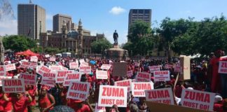 South Africa's Day Of Rage Against Jacob Zuma