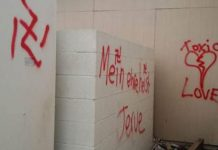 Asian Church Vandalized With Swastikas In Californian