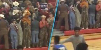 White High School Students Turn Their Back On Black Basketball Team