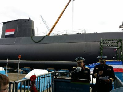 Egypt Takes Delivery Of Its New Type 209 Submarine