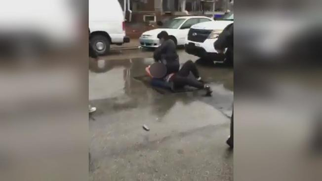 Philadelphia Cop Caught On Video Repeatedly Punching Teen Girl In The Face