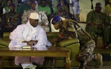 West African Troops Enter Gambia To Remove Yahya Jammeh
