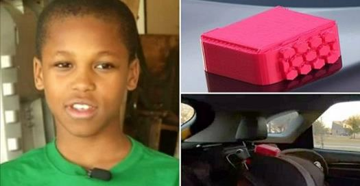 10-Year-Old Boy Invents Device To Prevent Hot Car Deaths