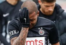 Racist Serbians' Monkey Chants Cause Brazilian Soccer Player To Leave The Field In Tears