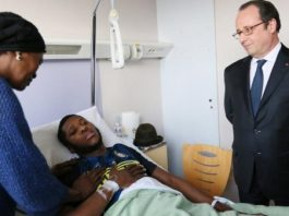 France's President Visits Black Man Who Was Raped And Beaten By French Cops