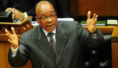 Jacob Zuma Deploys Army To Keep Him Safe During State Of The Nation Address