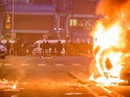 French Students Set Fire To Bins In Latest 'Justice For Théo' Protest