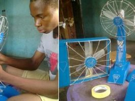 Nigerian Teen Ukoma Michael Invents Fan That Lasts 19 Hours Without Electricity