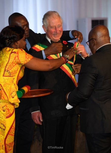 Ghana Bestows National Honour On Prince Charles