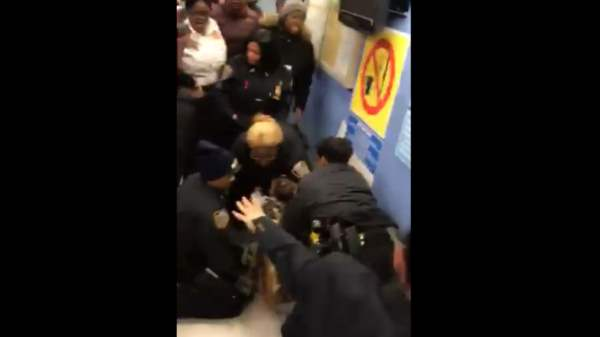 DISTURBING VIDEO Shows NYPD Thugs Ripping 1yo Baby From Mother's Arms