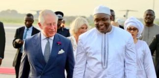 Free To Plunder: Prince Charles Praises Gambians For Removing Yahya Jammeh