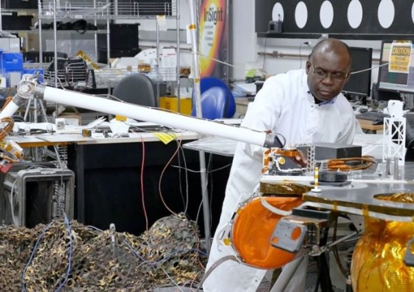 Meet The Ghanaian Engineer Who Built NASA's Latest Spacecraft To Land On Mars