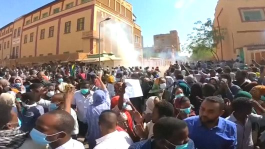 Biggest Protests In Recent History Hit Sudan