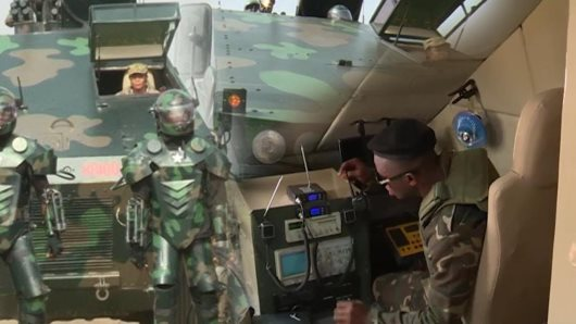Ghana Unveils Locally-Produced Armoured Personnel Carrier