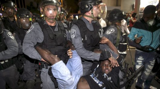 Israeli Police In Violent Crackdown On Ethiopian Jews