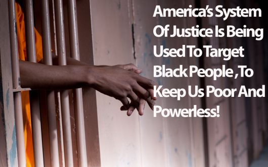 America's Apartheid Justice System Keeps Black People In Shackles