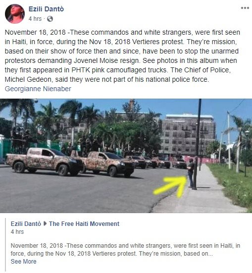 American Mercenaries Charged With Conspiracy Says Haitian Police
