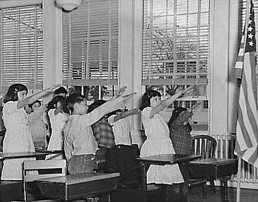 Why Americans Once Gave The Bellamy Salute