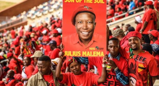 South Africa's Economic Freedom Fighters Launch Election Manifesto