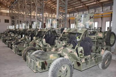 Nigerian Military Begins Manufacturing Light Patrol Vehicles