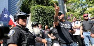 White Supremacists And The Police... A Love Affair