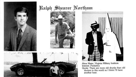 Ralph Northam's Blackface Politics - The Gantt Report