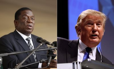 Donald Trump Extends Sanctions On Zimbabwe