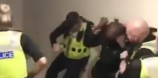 Britain: Police Investigate Viral Video Of Officer Beating Man