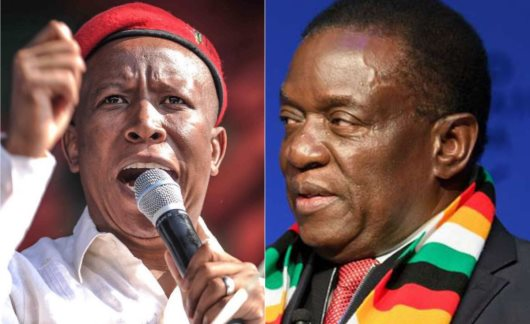 Malema Labels Zimbabwe President A Sellout For Plan To Pay White Farmers