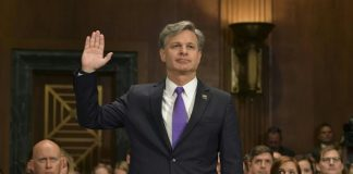 FBI Chief Says White Supremacy Is A 'Persistent, Pervasive Threat'