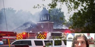 Police Officer's Son Arrested For Torching Black Churches In Louisiana