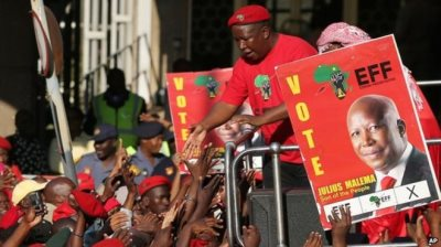 ANC 'Cowards' Too 'Scared Of Whites' To Take Back The Land – Julius Malema