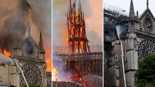 Coons Of Africa: Ivorian King So Upset By Notre-Dame Fire, Vows Rebuilding Contribution