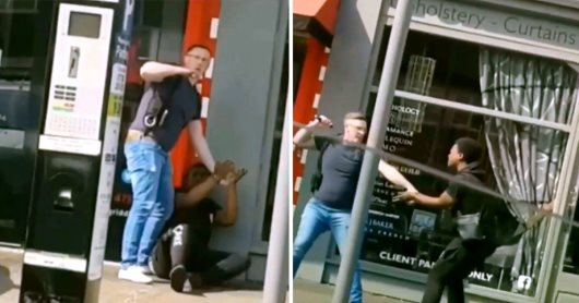 British Thug Cop Caught On Video Beating Handcuffed Black Teen With Baton