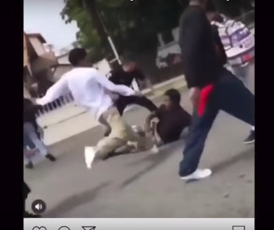 Mexican Gang Members Viciously Attack And Beat Black Students