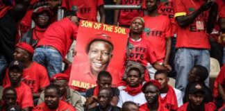 South Africa's Economic Freedom Fighters Celebrate Growth